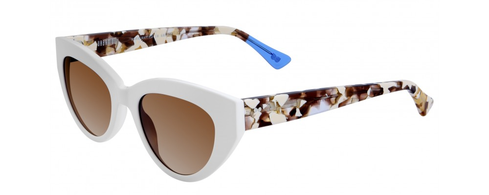 Color: White Tortoise