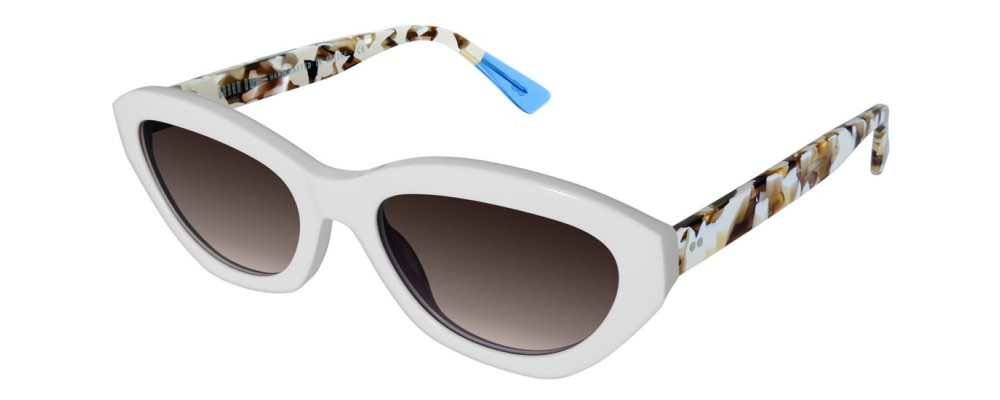 Color: White Cream Tortoise