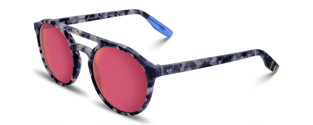Color: Blue Tortoise MatteLens Type: Premium Organic Lenses