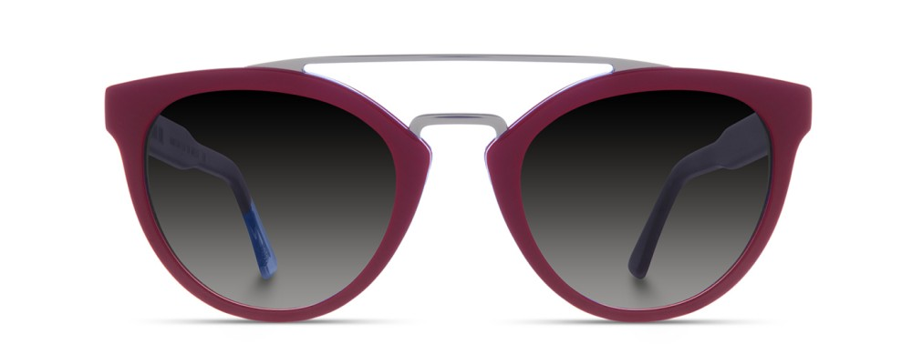 Color: Red WineLens Type: Regular Lenses