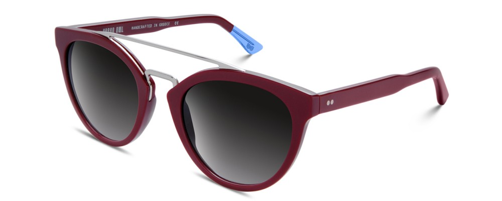 Color: Red WineLens Type: Premium Organic Lenses