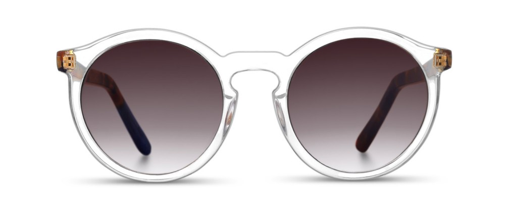 Color: Crystal Clear | Brown TortoiseLens Type: Regular Lenses
